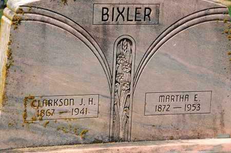 BIXLER, MARTHA E. - Carroll County, Maryland | MARTHA E. BIXLER - Maryland Gravestone Photos