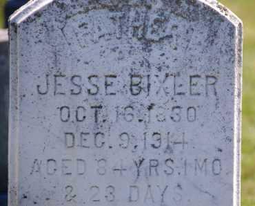 BIXLER, JESSE - Carroll County, Maryland | JESSE BIXLER - Maryland Gravestone Photos