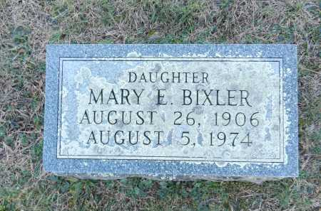BIXLER, MARY E - Carroll County, Maryland | MARY E BIXLER - Maryland Gravestone Photos