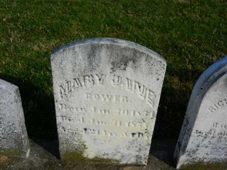 BOWER, MARY JANE - Carroll County, Maryland | MARY JANE BOWER - Maryland Gravestone Photos