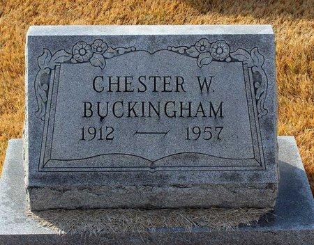 BUCKINGHAM, CHESTER W. - Carroll County, Maryland | CHESTER W. BUCKINGHAM - Maryland Gravestone Photos