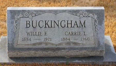BUCKINGHAM, CARRIE L. - Carroll County, Maryland | CARRIE L. BUCKINGHAM - Maryland Gravestone Photos