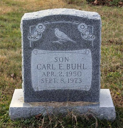 BUHL, CARL E. - Carroll County, Maryland | CARL E. BUHL - Maryland Gravestone Photos