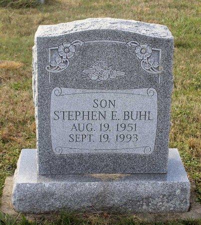 BUHL, STEPHEN E. - Carroll County, Maryland | STEPHEN E. BUHL - Maryland Gravestone Photos