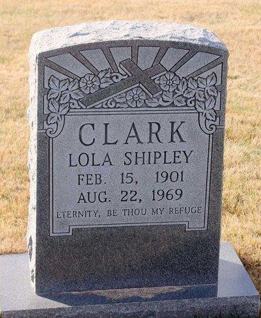 SHIPLEY CLARK, LOLA - Carroll County, Maryland   LOLA SHIPLEY CLARK - Maryland Gravestone Photos