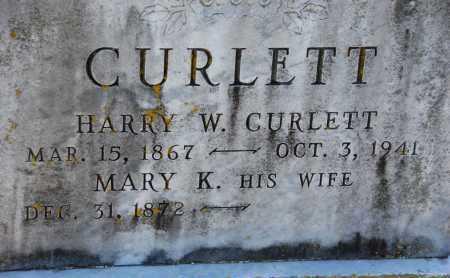 CURLETT, MARY K. - Carroll County, Maryland | MARY K. CURLETT - Maryland Gravestone Photos