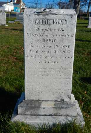 DAVIS, ALLIE MAY - Carroll County, Maryland | ALLIE MAY DAVIS - Maryland Gravestone Photos
