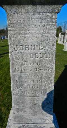 DELL, JOHN G. - Carroll County, Maryland   JOHN G. DELL - Maryland Gravestone Photos