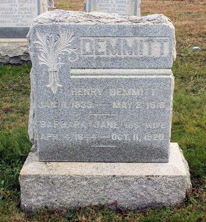 DEMMITT, BARBARA JANE - Carroll County, Maryland | BARBARA JANE DEMMITT - Maryland Gravestone Photos