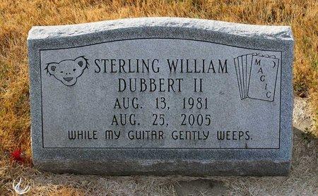 DUBBERT, STERLING WILLIAM II - Carroll County, Maryland | STERLING WILLIAM II DUBBERT - Maryland Gravestone Photos