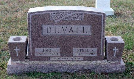 DUVALL, ETHEL D. - Carroll County, Maryland   ETHEL D. DUVALL - Maryland Gravestone Photos