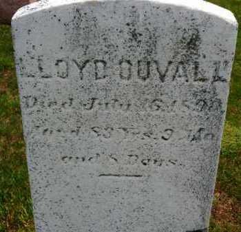 DUVALL, LLOYD - Carroll County, Maryland | LLOYD DUVALL - Maryland Gravestone Photos
