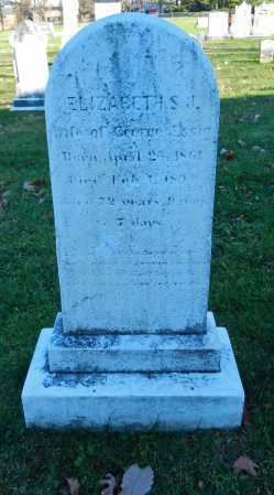 ESSIG, ELIZABETH S. J. - Carroll County, Maryland | ELIZABETH S. J. ESSIG - Maryland Gravestone Photos