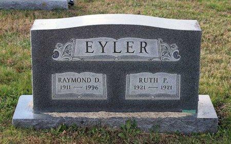 EYLER, RUTH P. - Carroll County, Maryland | RUTH P. EYLER - Maryland Gravestone Photos