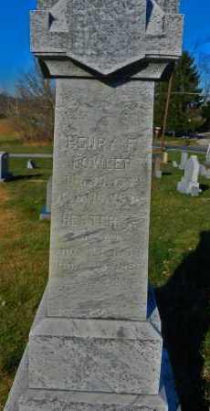 FOWLER, HENRY F. - Carroll County, Maryland | HENRY F. FOWLER - Maryland Gravestone Photos