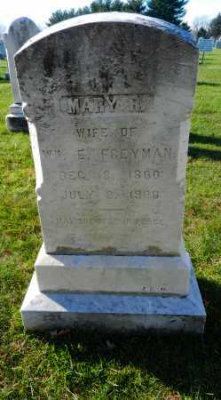 FREYMAN, MARY R. - Carroll County, Maryland | MARY R. FREYMAN - Maryland Gravestone Photos