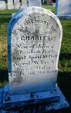 FRICK, CHARLES - Carroll County, Maryland | CHARLES FRICK - Maryland Gravestone Photos