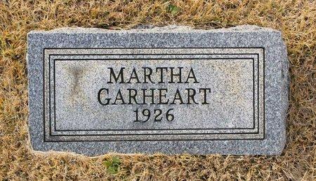 GARHEART, MARTHA - Carroll County, Maryland | MARTHA GARHEART - Maryland Gravestone Photos