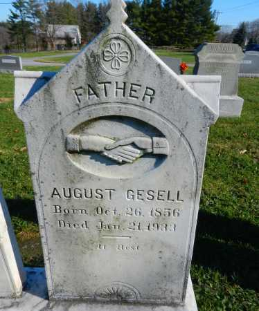 GESELL, AUGUST - Carroll County, Maryland | AUGUST GESELL - Maryland Gravestone Photos