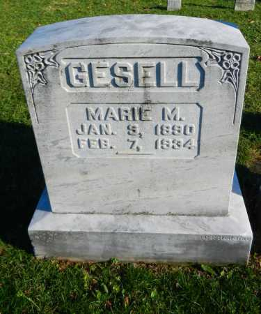 GESELL, MARIE M. - Carroll County, Maryland | MARIE M. GESELL - Maryland Gravestone Photos