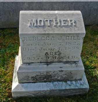 GILL, REBECCA J. - Carroll County, Maryland | REBECCA J. GILL - Maryland Gravestone Photos