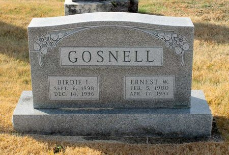 GOSNELL, ERNEST W. - Carroll County, Maryland   ERNEST W. GOSNELL - Maryland Gravestone Photos