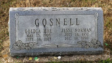 GOSNELL, JESSE NORMAN - Carroll County, Maryland   JESSE NORMAN GOSNELL - Maryland Gravestone Photos