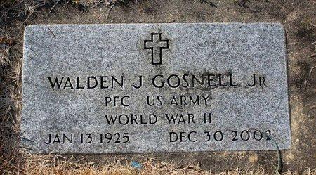 GOSNELL, WALDEN J. JR. - Carroll County, Maryland   WALDEN J. JR. GOSNELL - Maryland Gravestone Photos