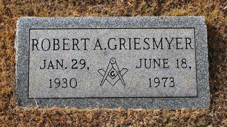 GRIESMYER, ROBERT A. - Carroll County, Maryland | ROBERT A. GRIESMYER - Maryland Gravestone Photos