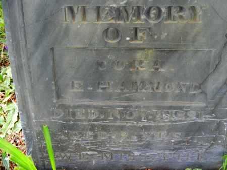 HAMMOND, CORA E. - Carroll County, Maryland   CORA E. HAMMOND - Maryland Gravestone Photos
