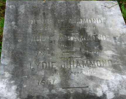 HAMMOND, LYDIE J. - Carroll County, Maryland | LYDIE J. HAMMOND - Maryland Gravestone Photos