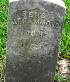 HAMMOND, SERGT. J.F. - Carroll County, Maryland   SERGT. J.F. HAMMOND - Maryland Gravestone Photos
