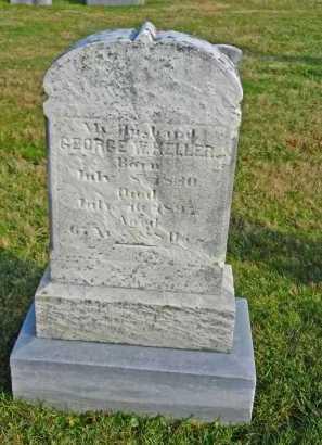 KELLER, GEORGE W. - Carroll County, Maryland   GEORGE W. KELLER - Maryland Gravestone Photos