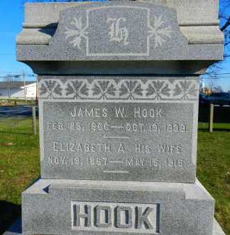 BEAVER HOOK, ELIZABETH A. - Carroll County, Maryland | ELIZABETH A. BEAVER HOOK - Maryland Gravestone Photos