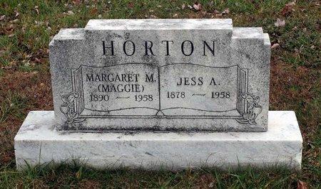 HORTON, JESS A. - Carroll County, Maryland | JESS A. HORTON - Maryland Gravestone Photos