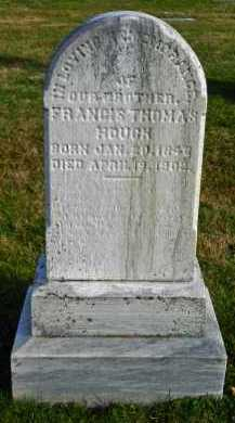 HOUGK, FRANCIS THOMAS - Carroll County, Maryland | FRANCIS THOMAS HOUGK - Maryland Gravestone Photos