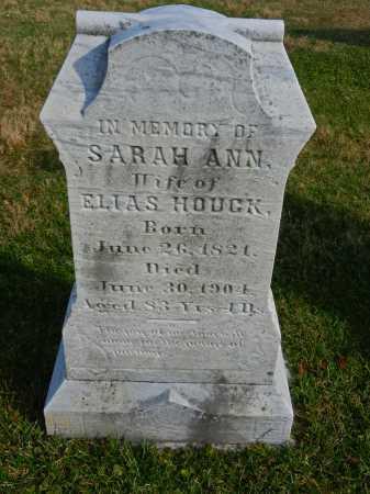 HOUGK, SARAH ANN - Carroll County, Maryland | SARAH ANN HOUGK - Maryland Gravestone Photos