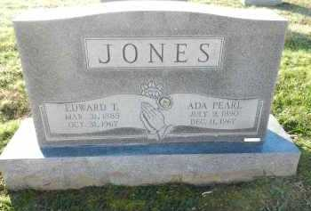 JONES, ADA PEARL - Carroll County, Maryland | ADA PEARL JONES - Maryland Gravestone Photos
