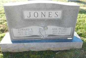 JONES, EDWARD T - Carroll County, Maryland | EDWARD T JONES - Maryland Gravestone Photos