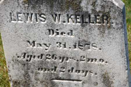 KELLER, LEWIS W. - Carroll County, Maryland | LEWIS W. KELLER - Maryland Gravestone Photos