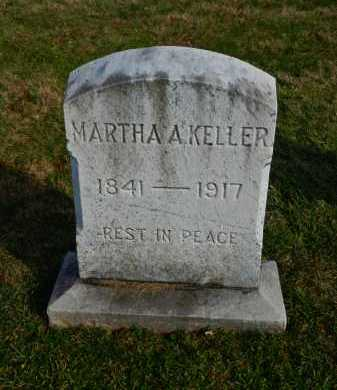 KELLER, MARTHA A. - Carroll County, Maryland | MARTHA A. KELLER - Maryland Gravestone Photos