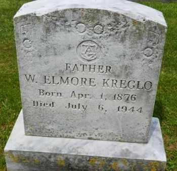 KREGLO, W. ELMORE - Carroll County, Maryland   W. ELMORE KREGLO - Maryland Gravestone Photos