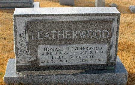 LEATHERWOOD, HOWARD - Carroll County, Maryland   HOWARD LEATHERWOOD - Maryland Gravestone Photos