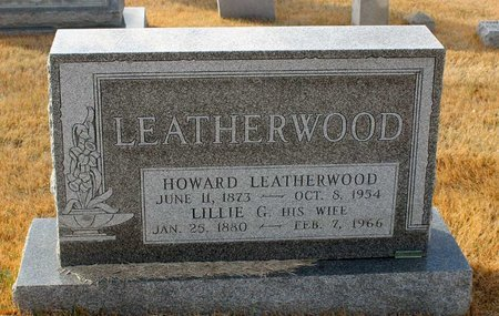 LEATHERWOOD, LILLIE G. - Carroll County, Maryland   LILLIE G. LEATHERWOOD - Maryland Gravestone Photos
