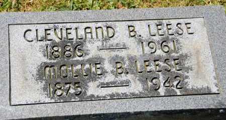 LEESE, CLEVELAND B. - Carroll County, Maryland | CLEVELAND B. LEESE - Maryland Gravestone Photos
