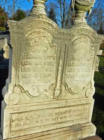 LIPPY, REBECCA - Carroll County, Maryland | REBECCA LIPPY - Maryland Gravestone Photos