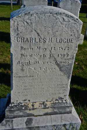 LOGUE, CHARLES H - Carroll County, Maryland   CHARLES H LOGUE - Maryland Gravestone Photos
