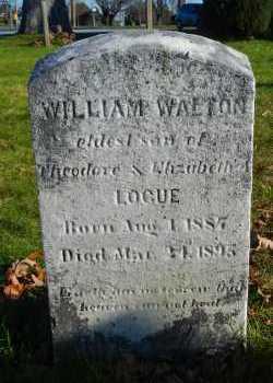 LOGUE, WILLIAM WALTON - Carroll County, Maryland   WILLIAM WALTON LOGUE - Maryland Gravestone Photos