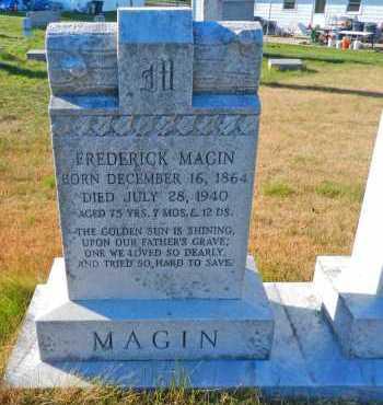 MAGIN, FREDERICK - Carroll County, Maryland | FREDERICK MAGIN - Maryland Gravestone Photos
