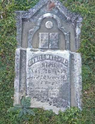 MATTHIAS, DANIEL - Carroll County, Maryland | DANIEL MATTHIAS - Maryland Gravestone Photos